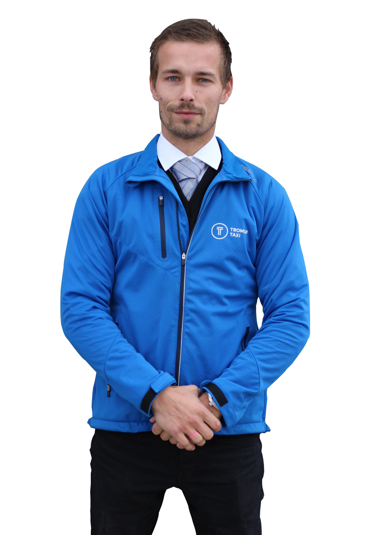 Work uniform blue