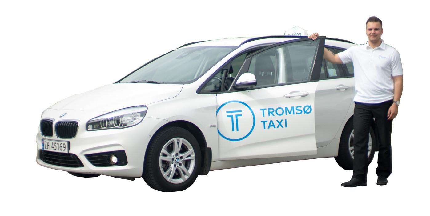 Taxi med sjåfør